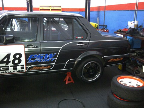 Jetta1 - Race Car Build